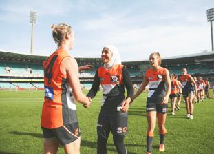 Сегодня очень важный день для спортивной жизни Австралии! Теперь женщины ...