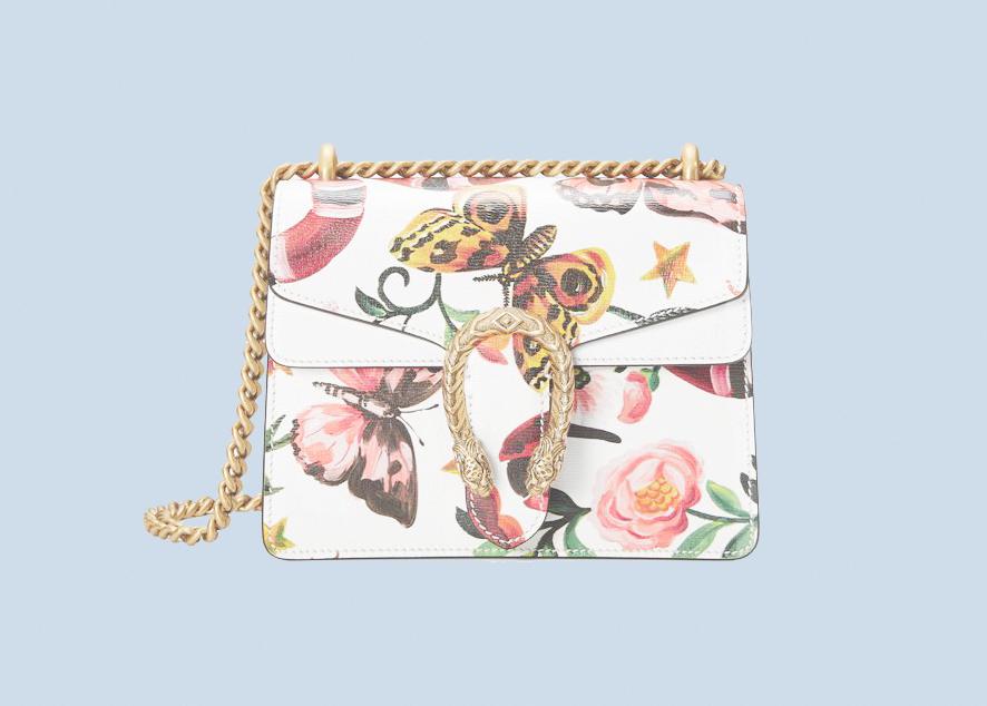 Новая сумка от Gucci Dionysus — это сочетание натурализма и классики.