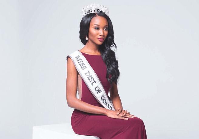 Недавно коронованная Мисс США Дешона Барбер – 26-ти летний офицер ...