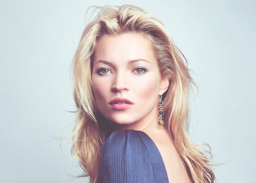 Кейт Мосс возвращается к Calvin Klein