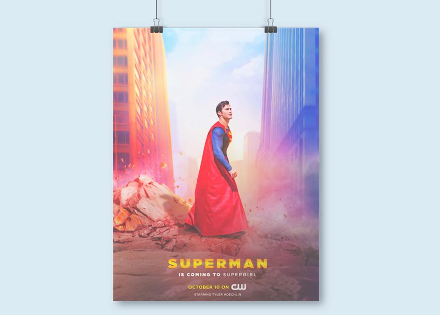 Как обернулась чья-та интернет-шутка для создательницы постера для сериала Supergirl.