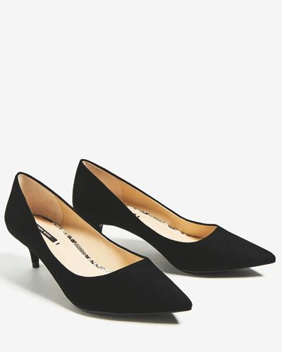 Туфли на низкой шпильке, Zara