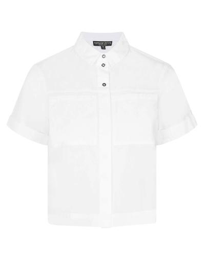 Рубашка с коротким рукавом, TopShop