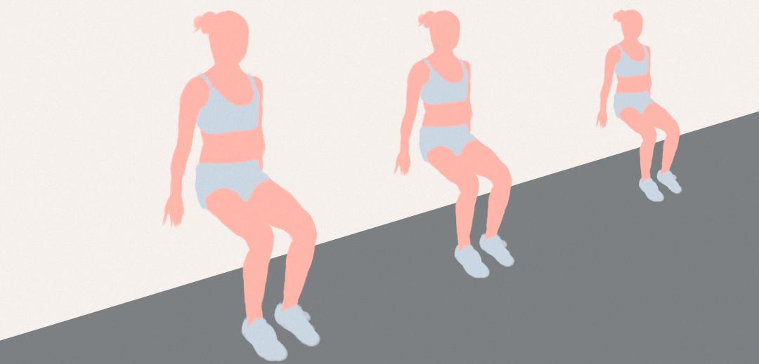 """Картинка упражнения """"стенка спиной"""" для укрепления мышц спины и снятия нагрузки с позвоночника"""
