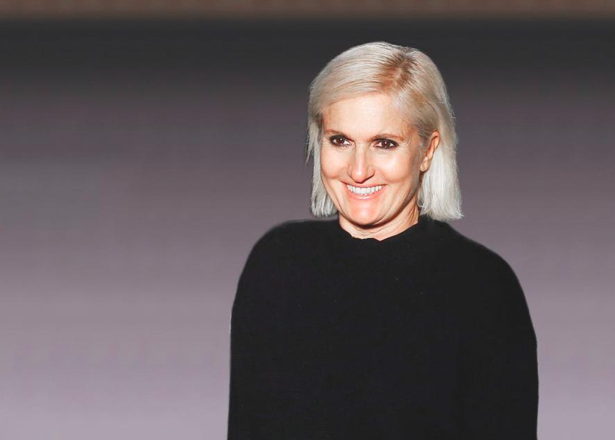 Мария Грация Кьюри намерена сделать современную моду более подходящей для женщин.