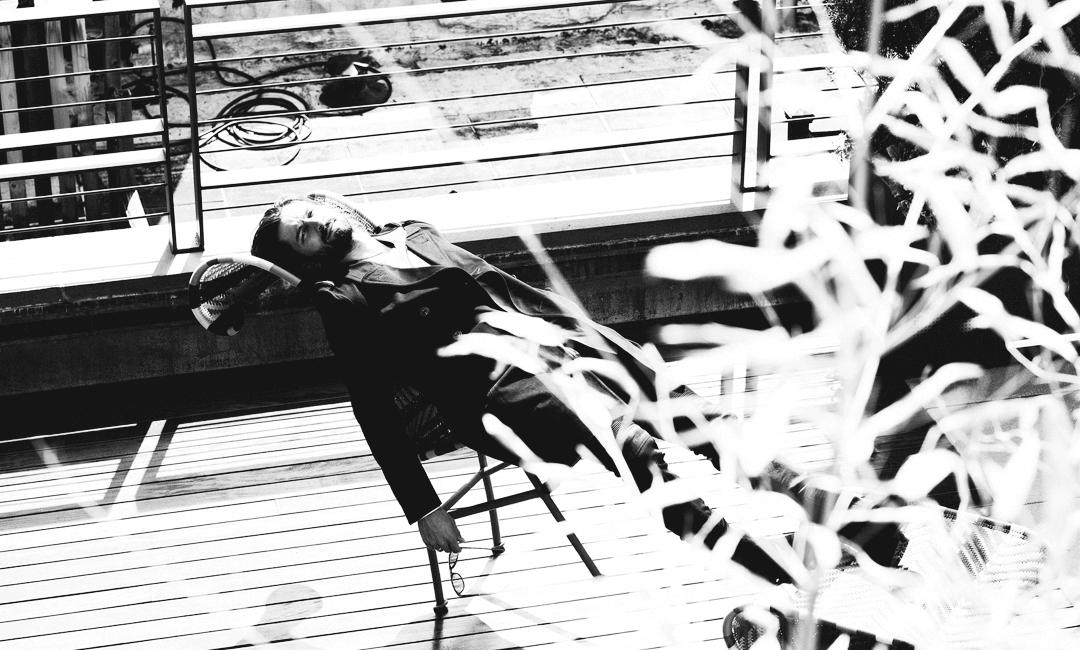 Михиль Хёйсман на отдыхе