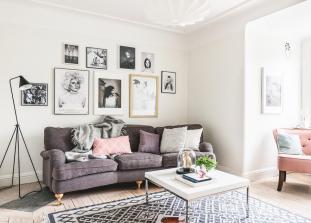 Белый - это практично, недорого и стильно - все, что нужно для дизайна интерьера.