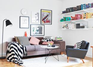 Как преобразить интерьер квартиры, которая вам не принадлежит, так, чтобы у хозяев не было претензий.