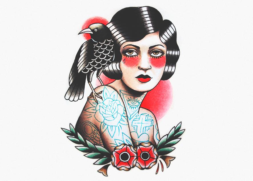 Татуировка больше не признак маргинальности, а часть повседневного стиля, как и пирсинг, тоннели, вейп и гироскутеры.
