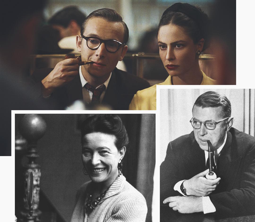 История свободных отношений Симоны де Бовуар и Жана-Поля Сартра, фото