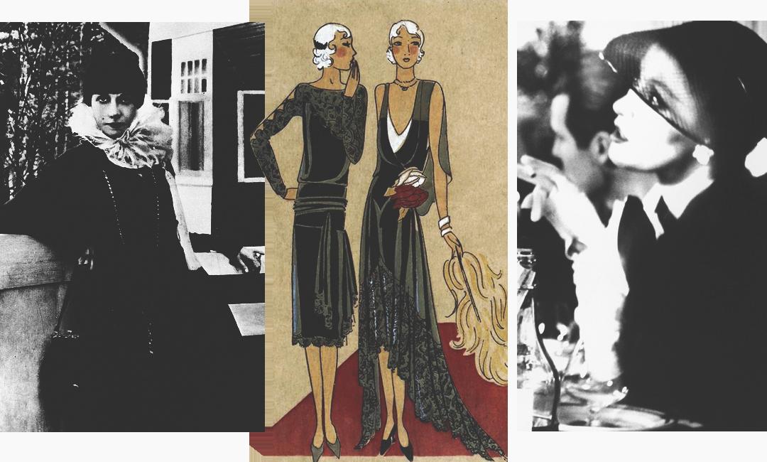 Что носили женщины во времена декаданса