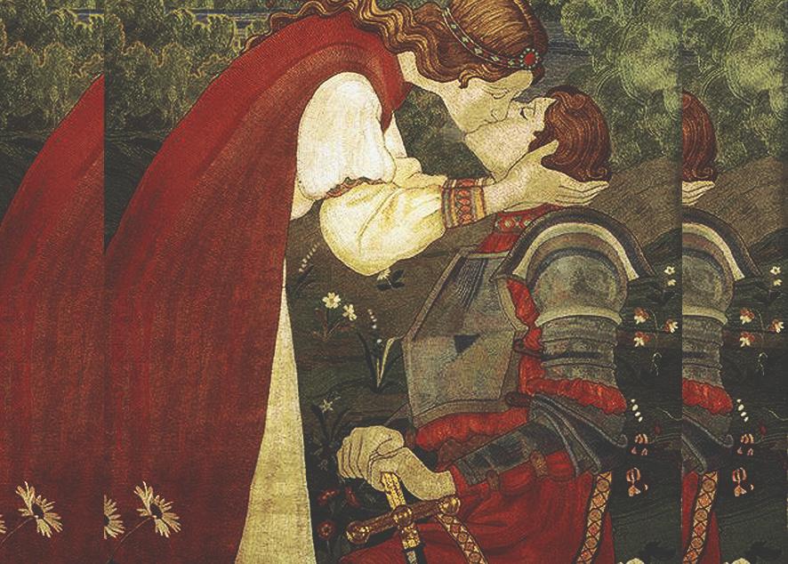 Земляные черви, шелковые валентинки, гадание по глине и лавровым листам - все, что нужно знать о Дне святого Валентина в Средневековье.