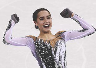 Пока единственное золото для России на Олимпиаде в Пхенчхане заработала девушка.