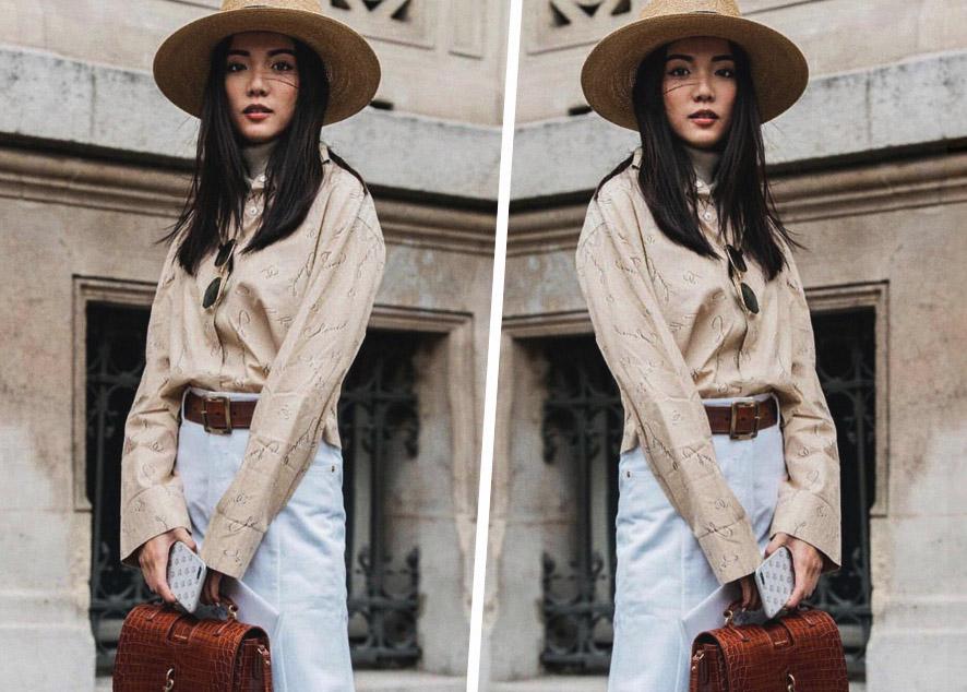 27 летняя девушка из Сингапура, владелица модного бренда Exhibit, редактор сингапурского L'Officiel и ее лучшие наряды.