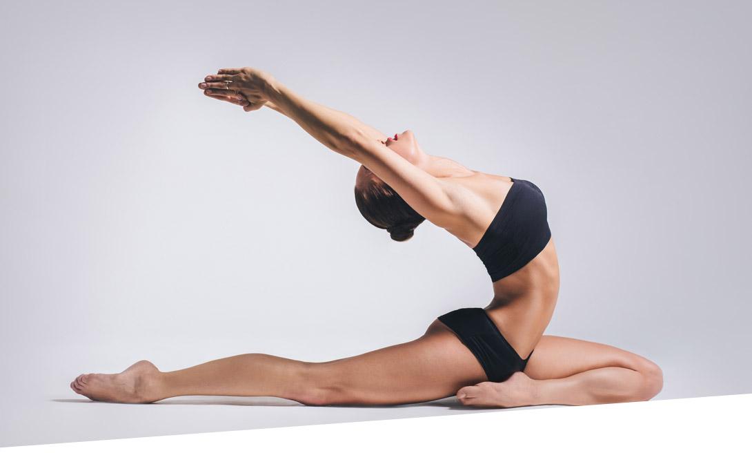 йога гибкость женщины