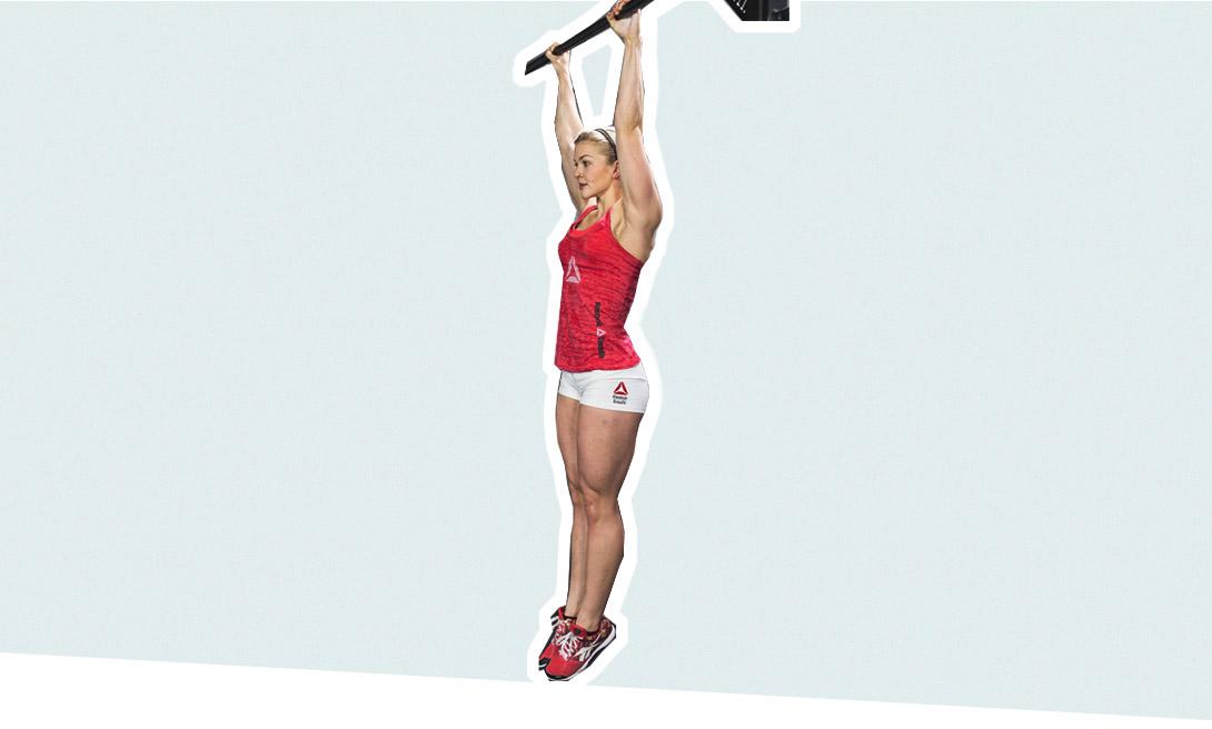 Зависание - упражнение для улучшения растяжки