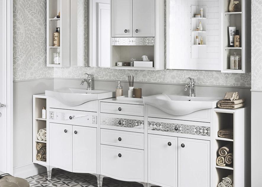 Как сделать так, чтобы ванная комната казалась больше, чем она есть.