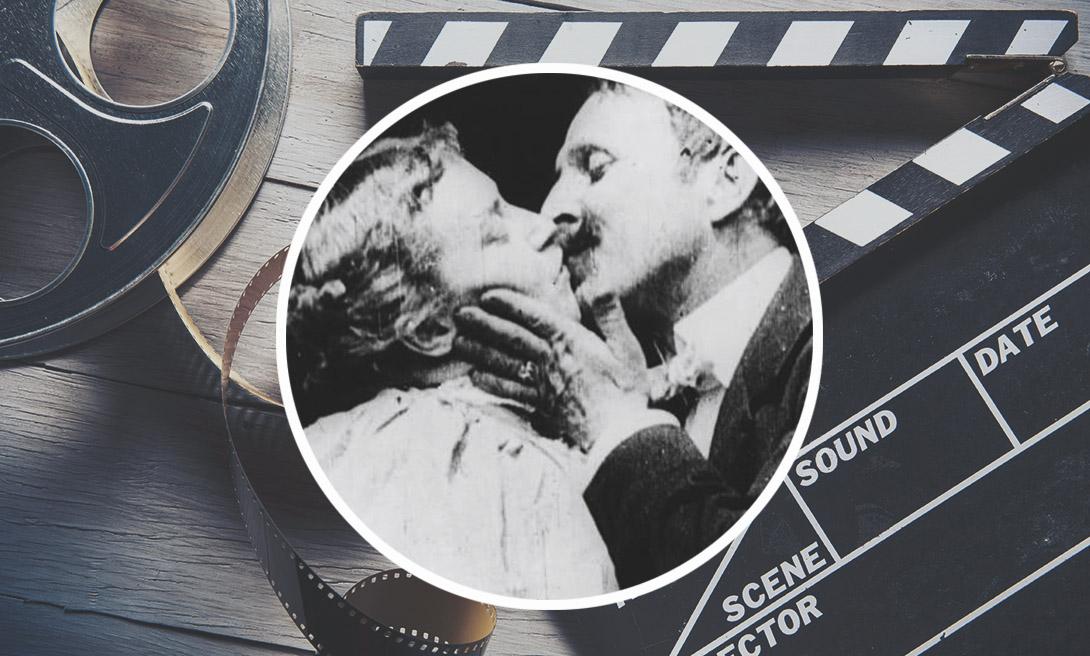 Первый поцелуй в кино («The Kiss» 1896 год)