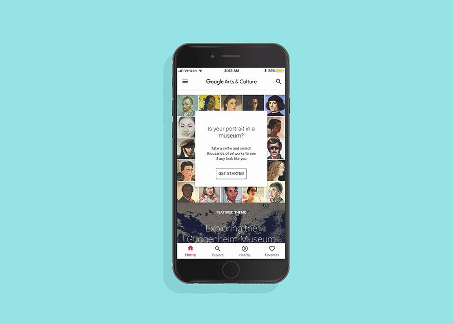 Функция Art Selfie теперь доступна для iOS и Android.