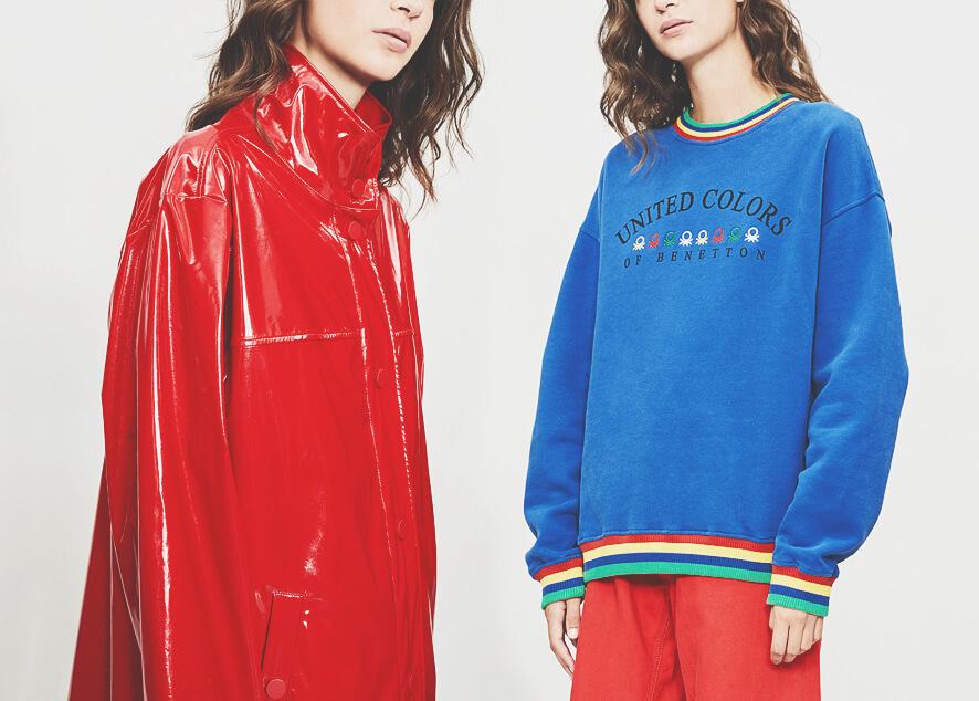 «United Colors of Benetton x Selfridges» уже доступна в магазинах.