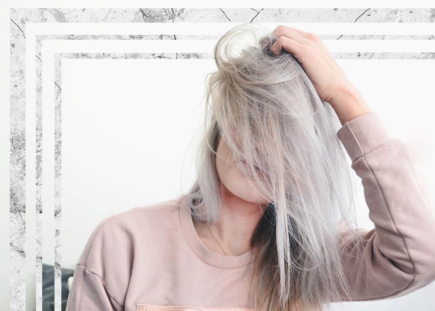 Почему волосы рано седеют, красить или смириться и как правильно ухаживать за ними.