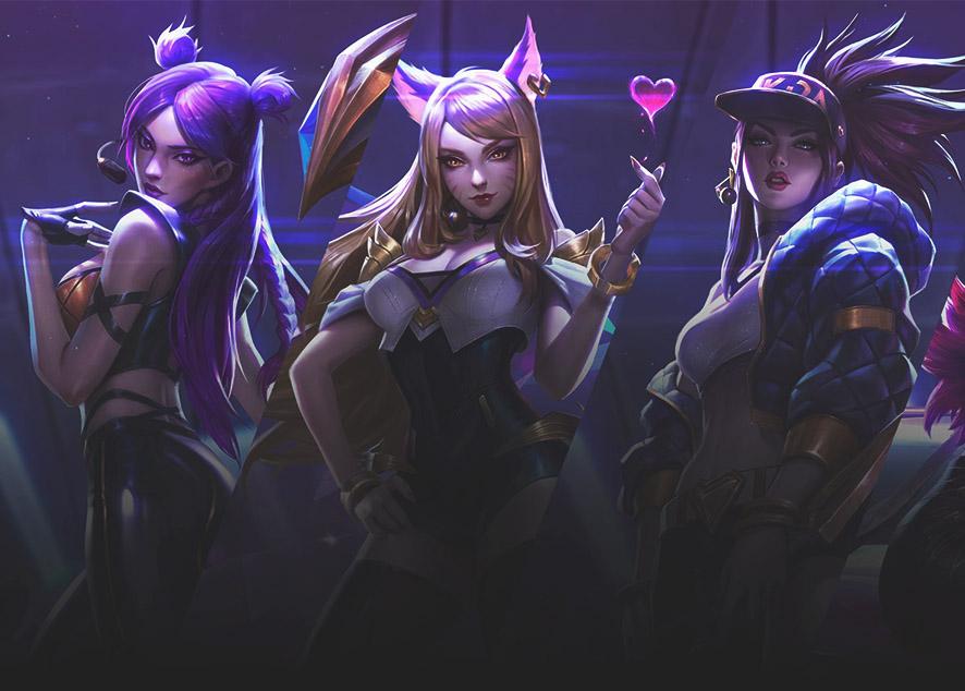 Четыре яркие девушки, непохожие ни на кого.