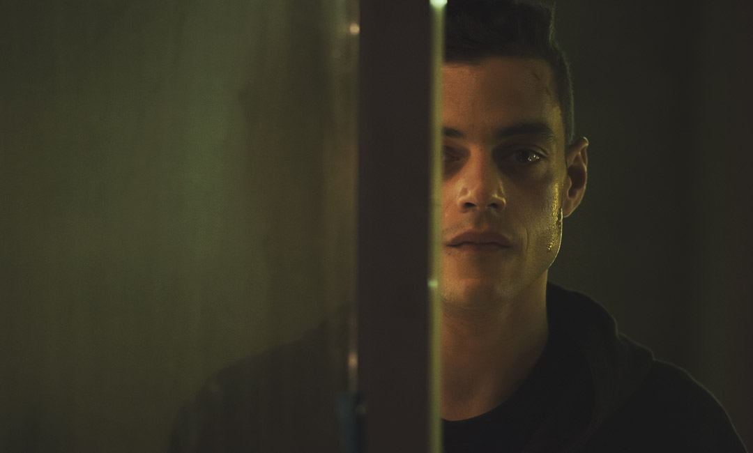 rami malek from mr.robot