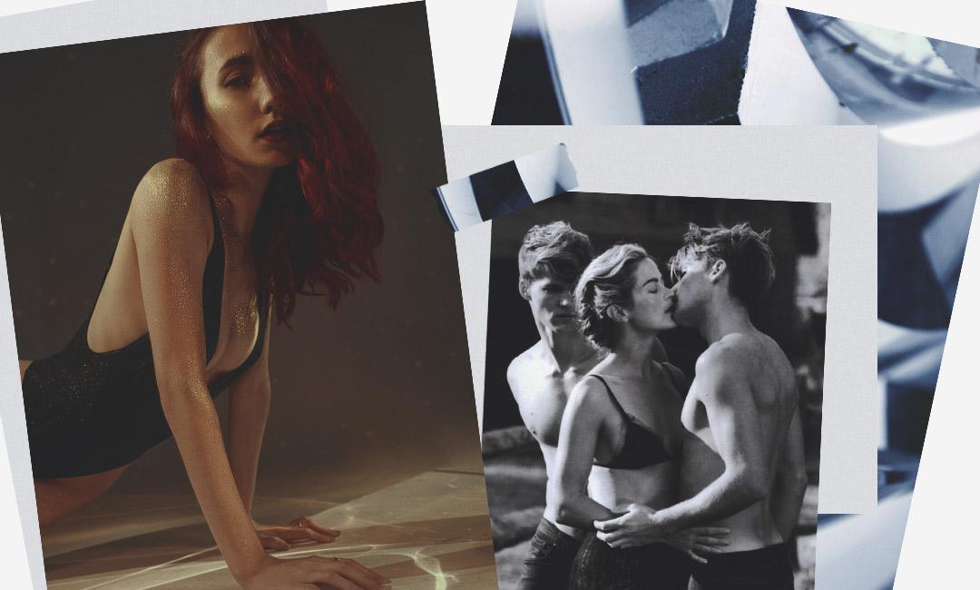 Фильмы эротическое секс втроем мжм правила полненькой пары