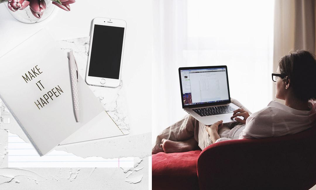 девушка с ноутбуком фото