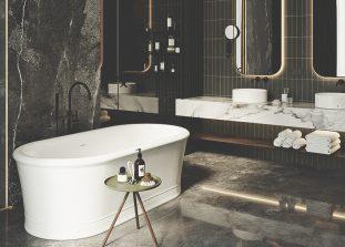 Главное, чего хочется для крохотной ванной комнаты в квартире, – чтобы все под рукой и ничего на виду.