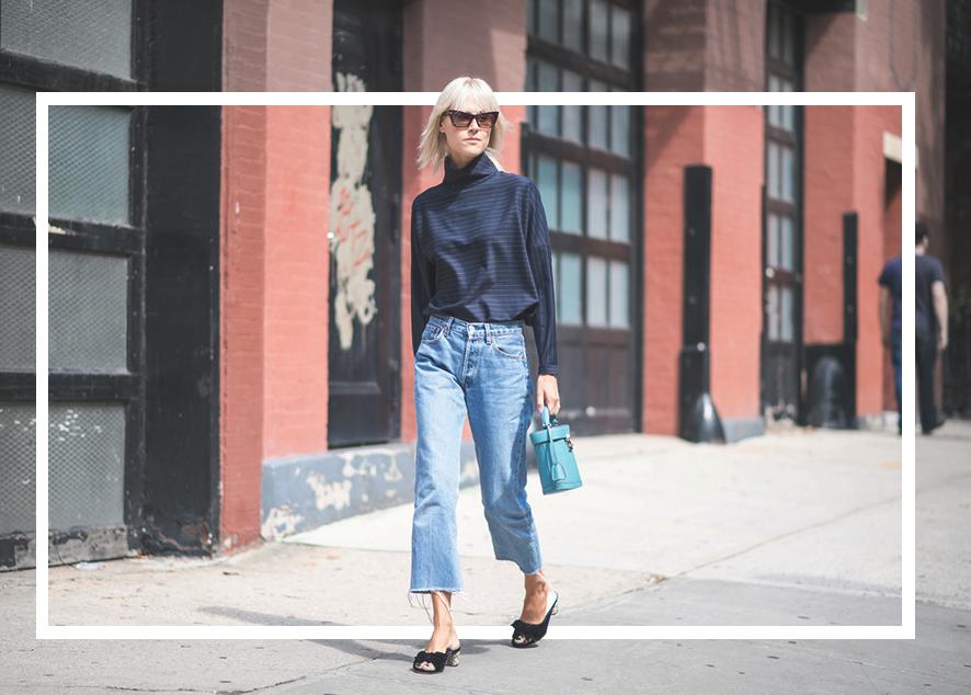 Как выгодно использовать джинсы oversize в своем гардеробе.