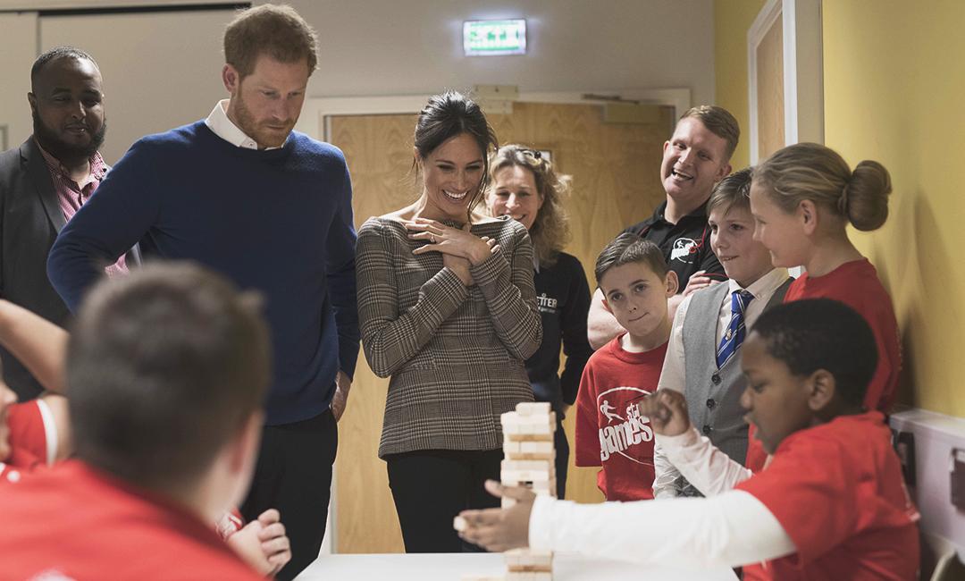 Благотворительностью Меган Маркл занималась и до встречи с принцем Гарри