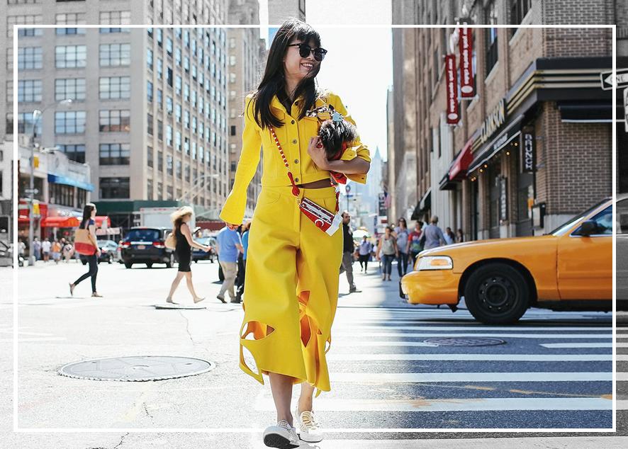 Как одеться в раскованном и смелом стиле жительницы Нью-Йорка.
