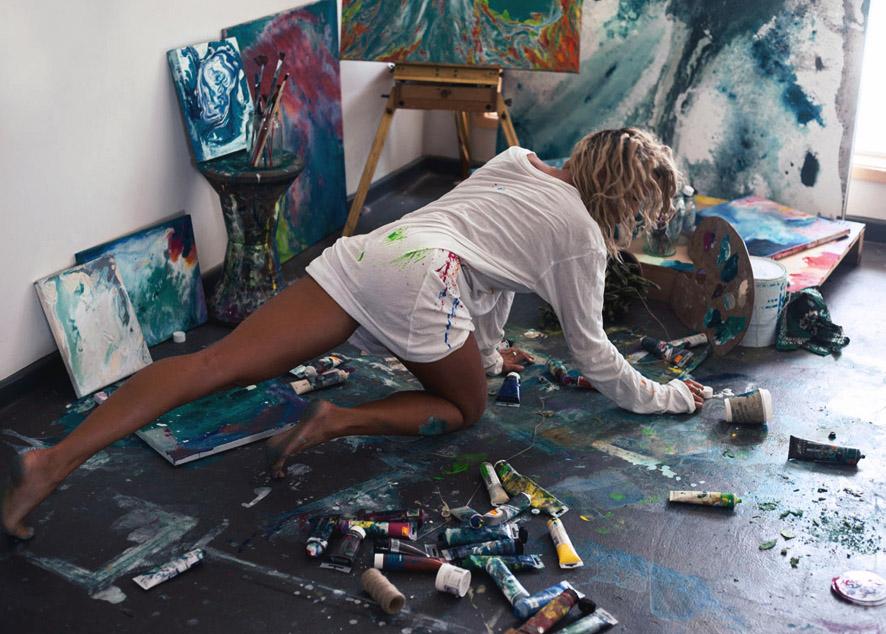 Как создать профессиональную картину, не имея художественных навыков.