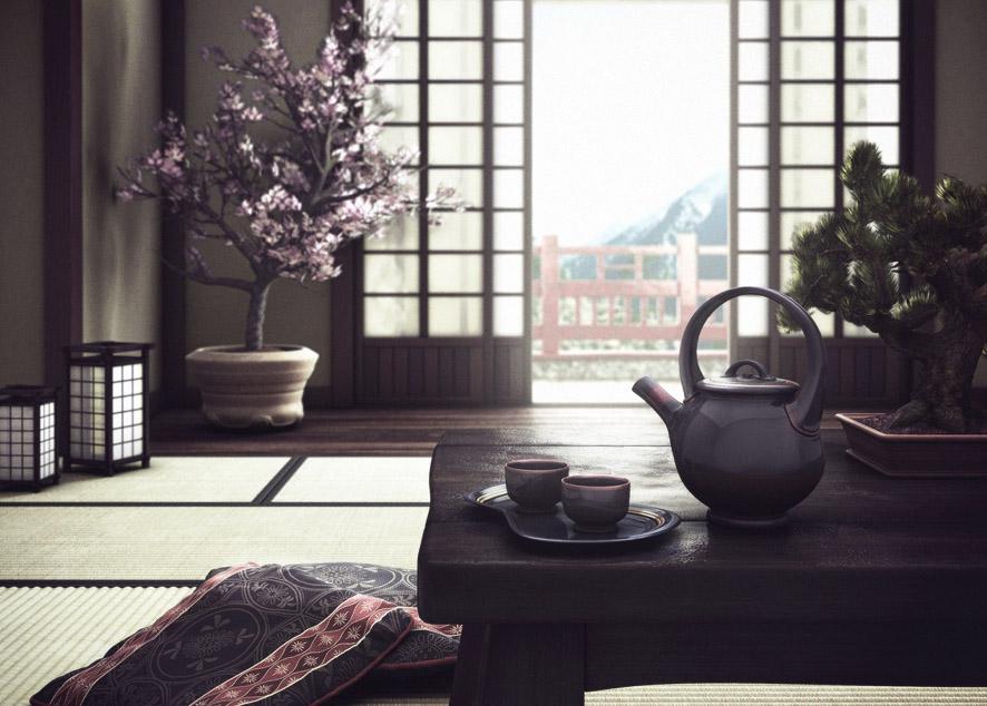 Основные правила оформления интерьера в духе Японии.