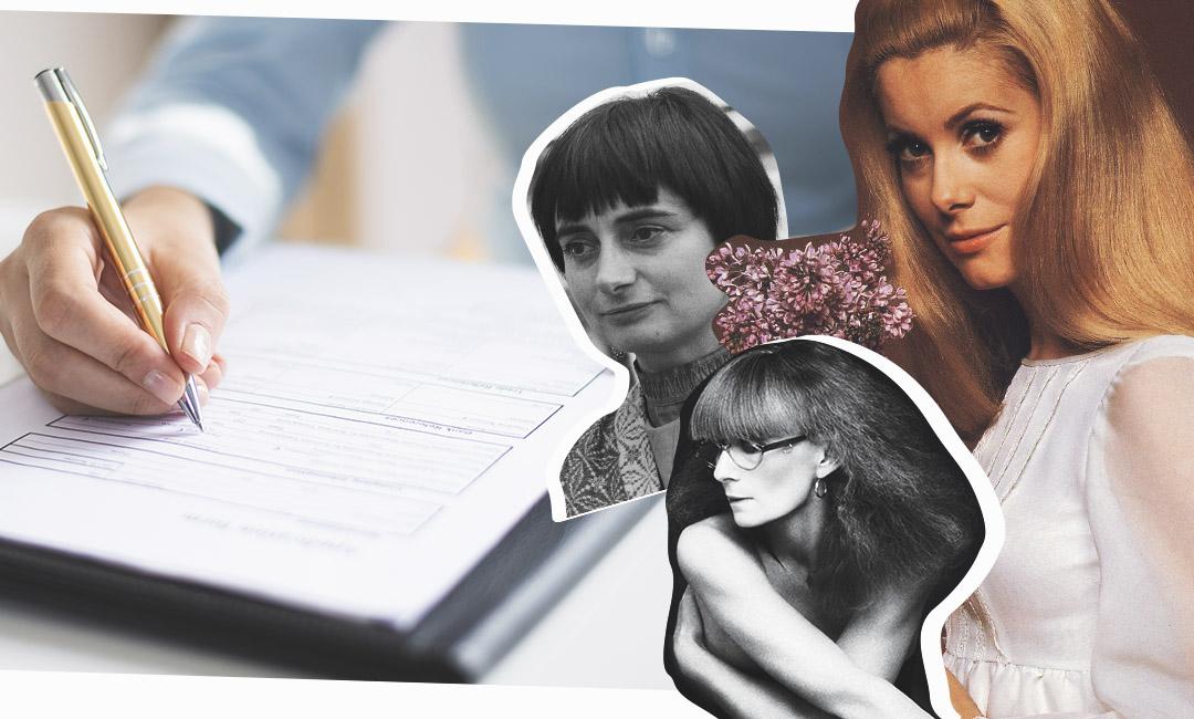 Актриса Катрин Денев, режиссер Аньес Варда и дизайнер Сони Рикель, подписали манифест о легализации абортов еще 50 лет назад. Сегодня в США принят закон, запрещающий прерывать беременность