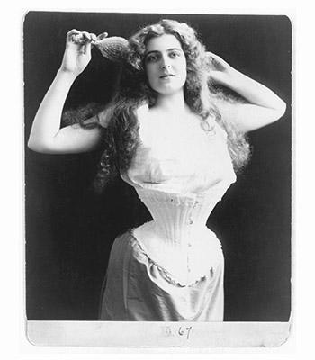 женщины в корсете 19 век