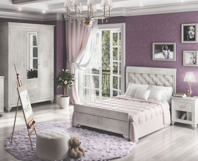 Варианты оформления интерьера детской комнаты в классическом стиле.