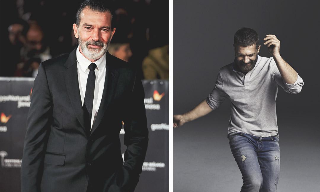 Антонио Бандерас фото с бородой