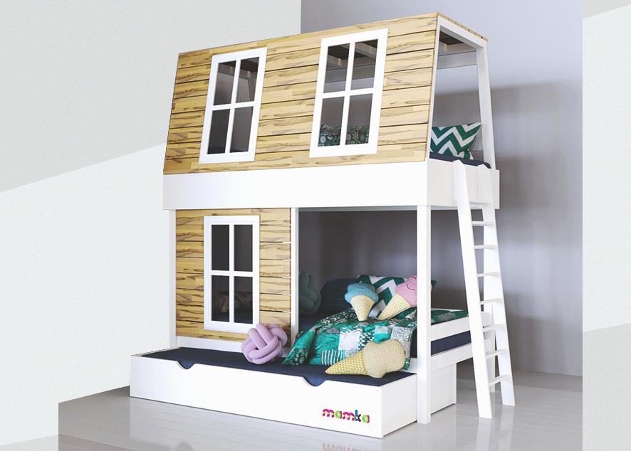 Выбирая мебель в детскую комнату, делай ставку на минимализм и безопасность.