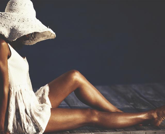 Как спасти свою кожу от палящего солнца.