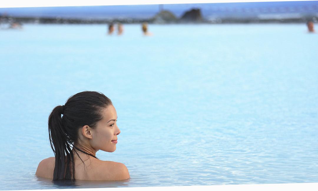 Голубая лагуна - достопримечательность Исландии