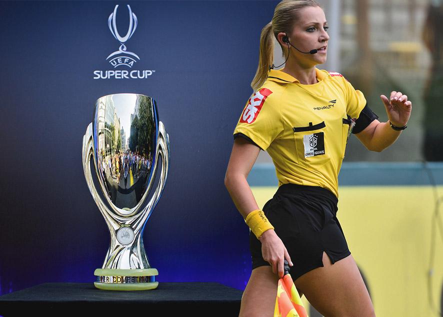 Первый раз за историю Суперкубка женщины будут судить мужскую игру.