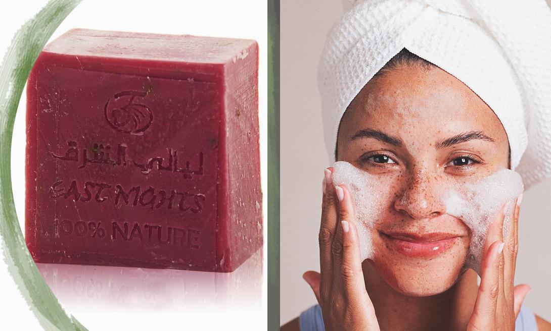 Арабская косметика. Розовое мыло