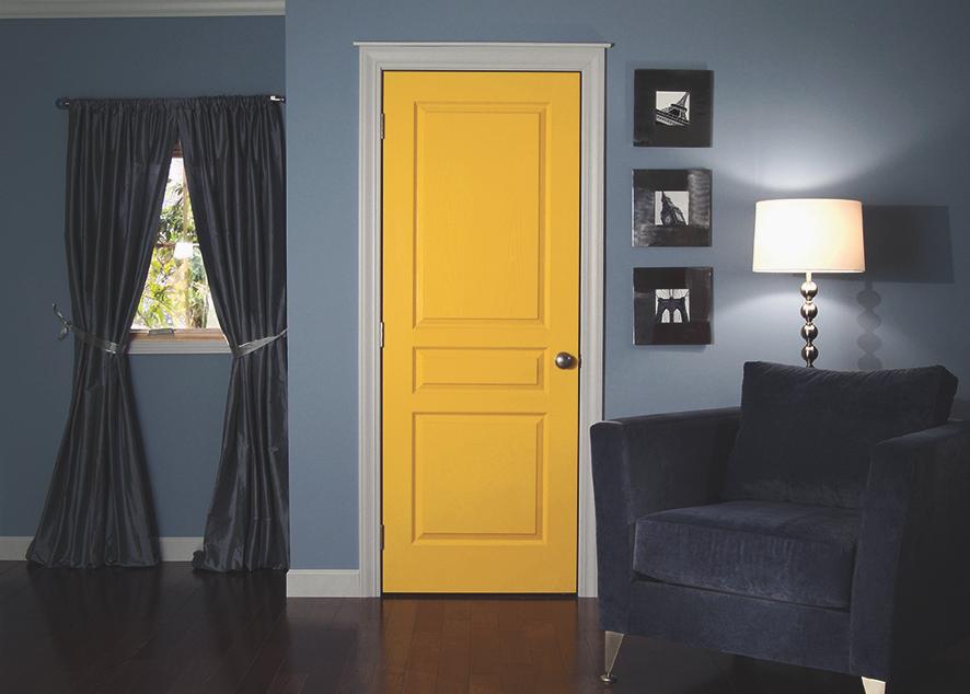 Как правильная дверь меняет комнату.
