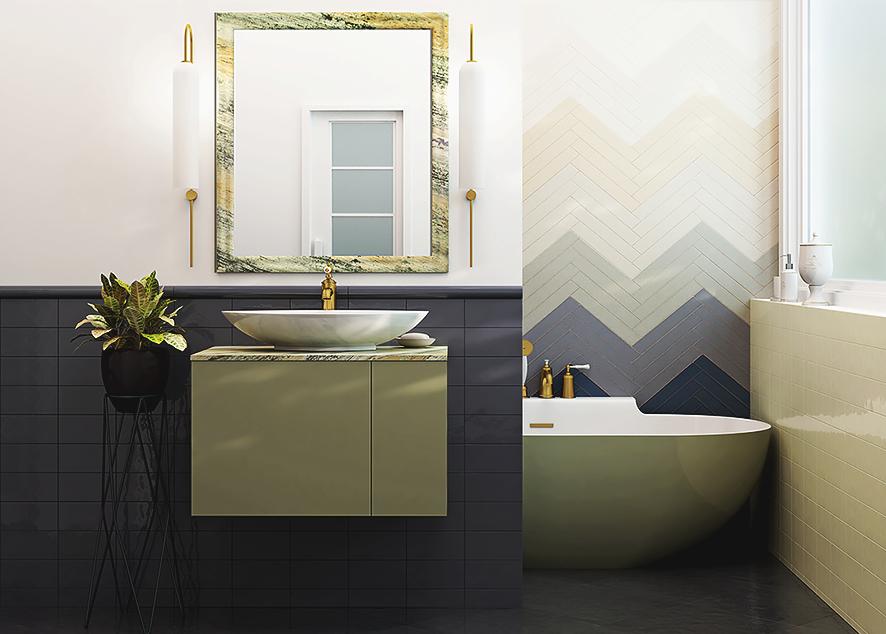 Минеральное литье Dolomite - новый тренд в оформлении ванной комнаты.