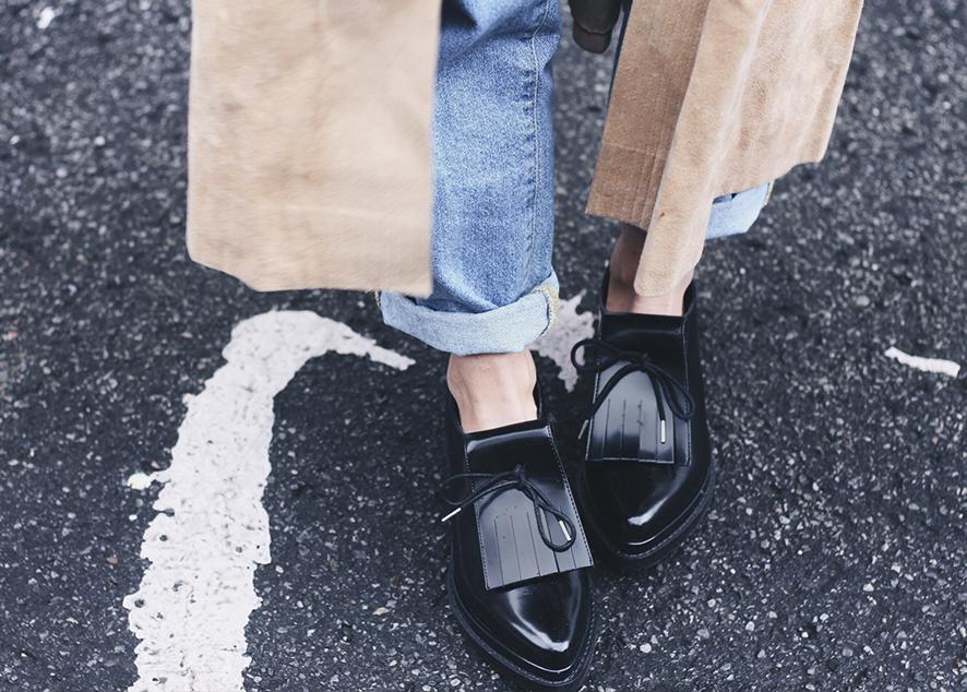 Стильная обувь на плоском ходу на весну и лето.