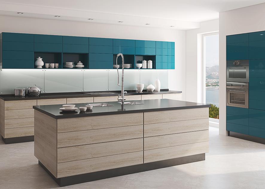 Как создать современную и красивую кухню.