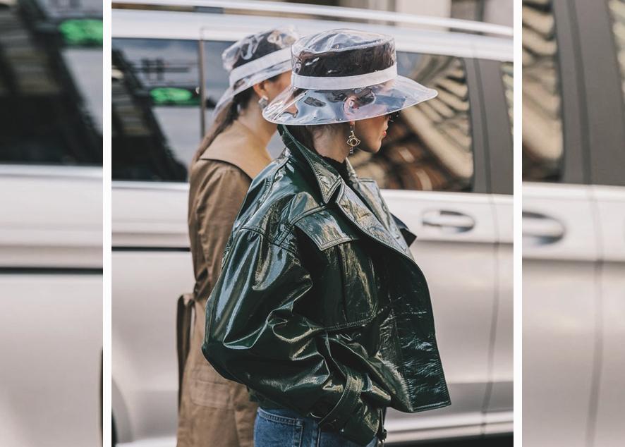 Как менялась мода на женские головные уборы.